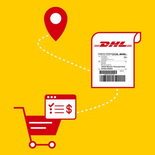 Shopify DHL