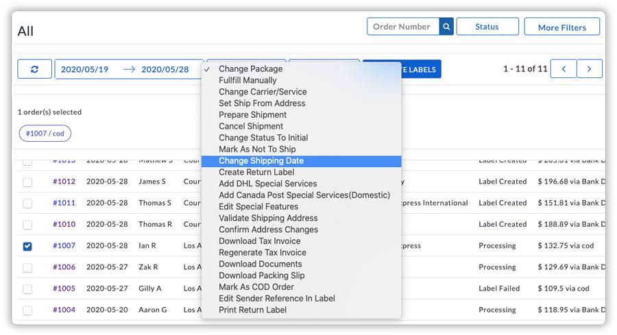 Change-shipping-date