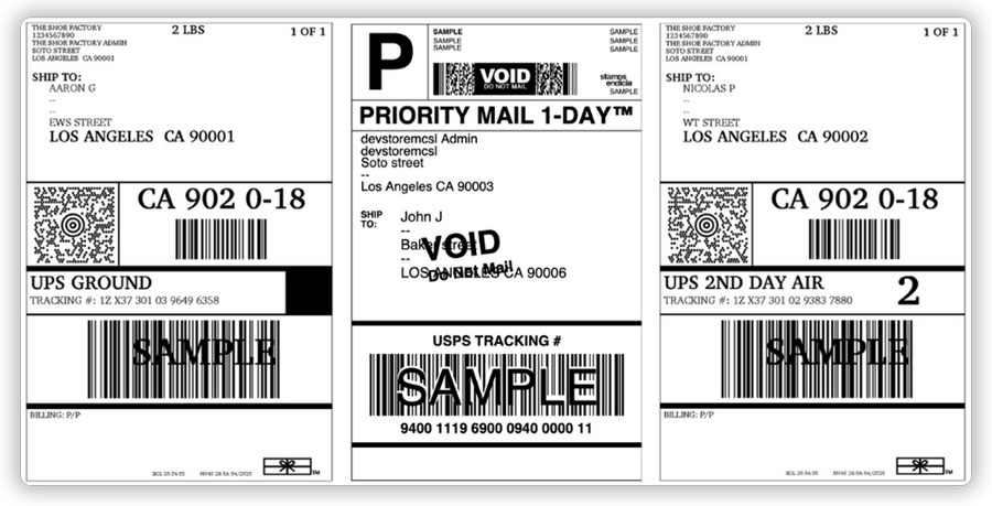 UPS-USPS-labels