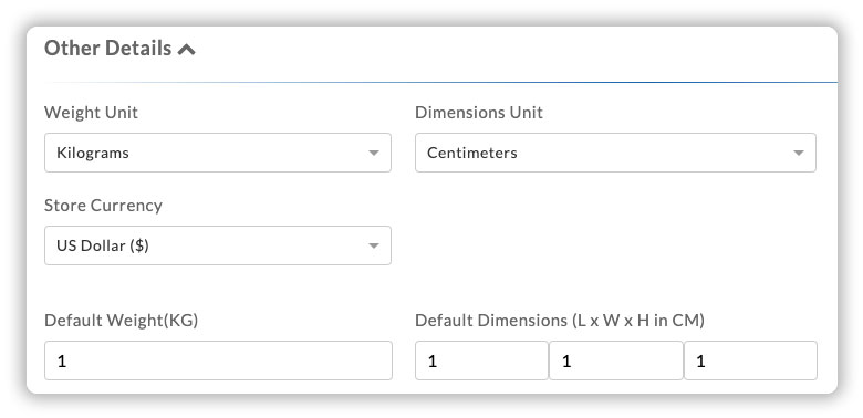 default-weight-dimensions