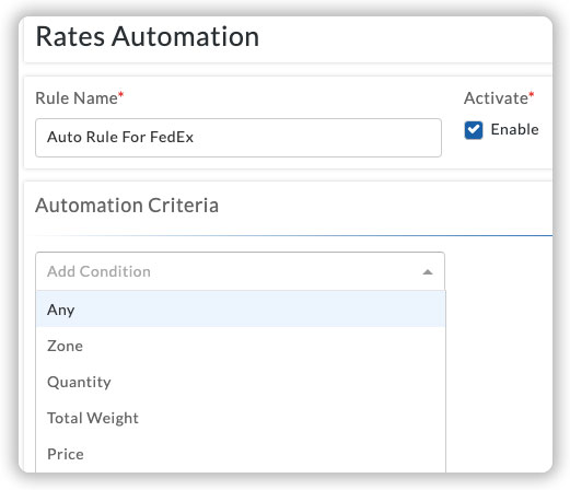 rate-automation-criterias