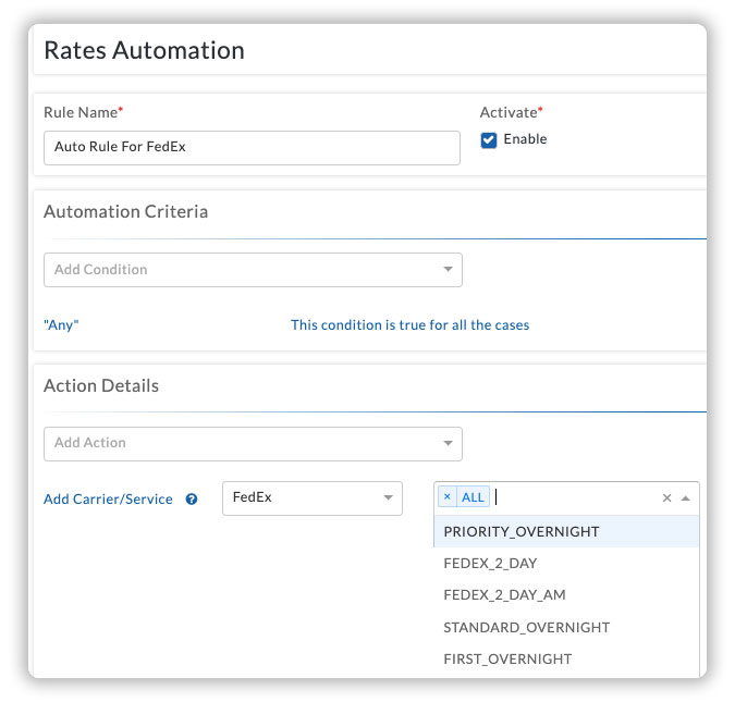 rates-automation-settings
