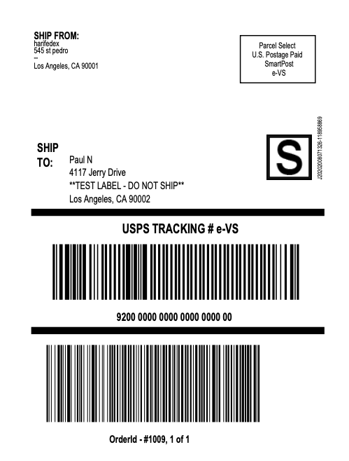 FedEx-SmartPost-label