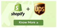 Shopify UPS integration