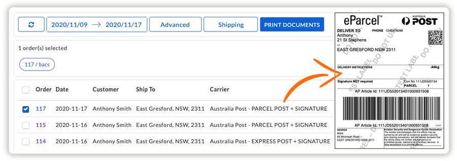woocommerce-australia-post-shipping-labels