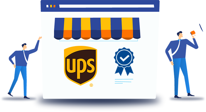 UPS ready certified shipping