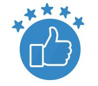 1000+ 5 Star Customer Reviews