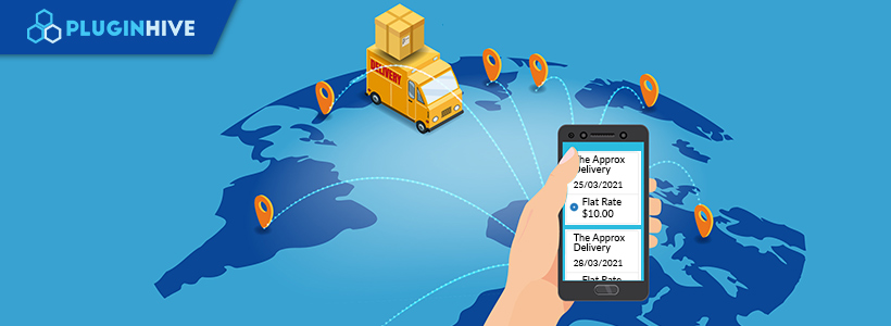Estimated Delivery Dates for Multiple Shipping Methods