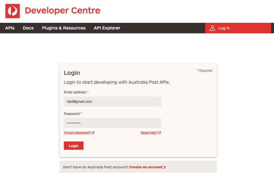 Australia Post development center