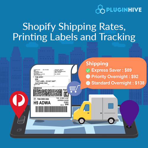 Shopify-shipping-rates-label-tracking