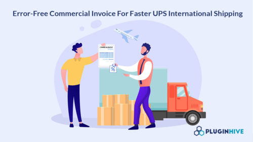 Discount Charges on Commercial Invoice For UPS International Shipping