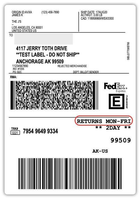 FedEx-Label-for-normal-returns