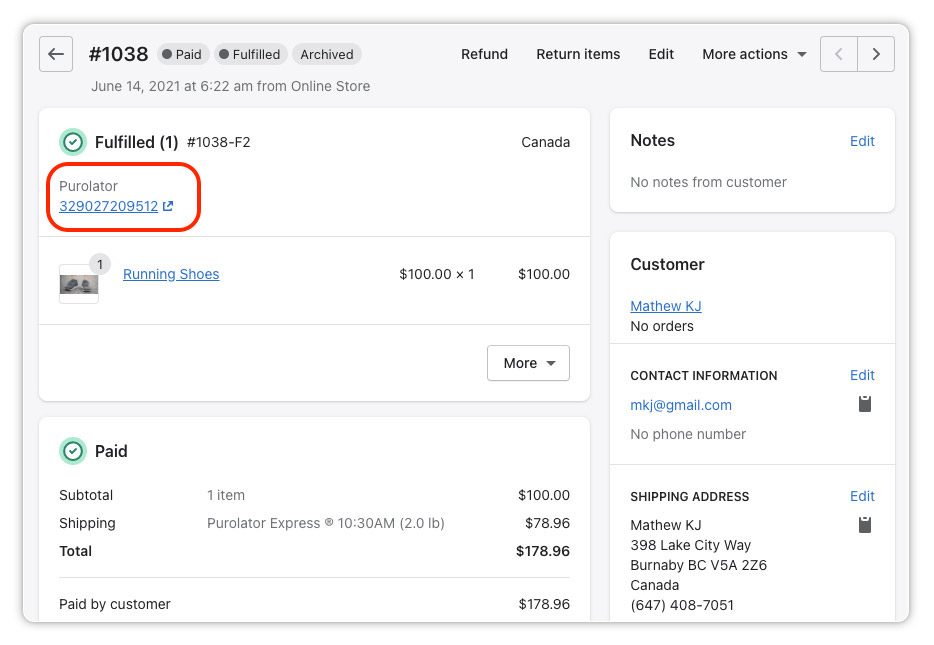 Mark-the-order-as-fulfilled-with-Purolator-tracking-number