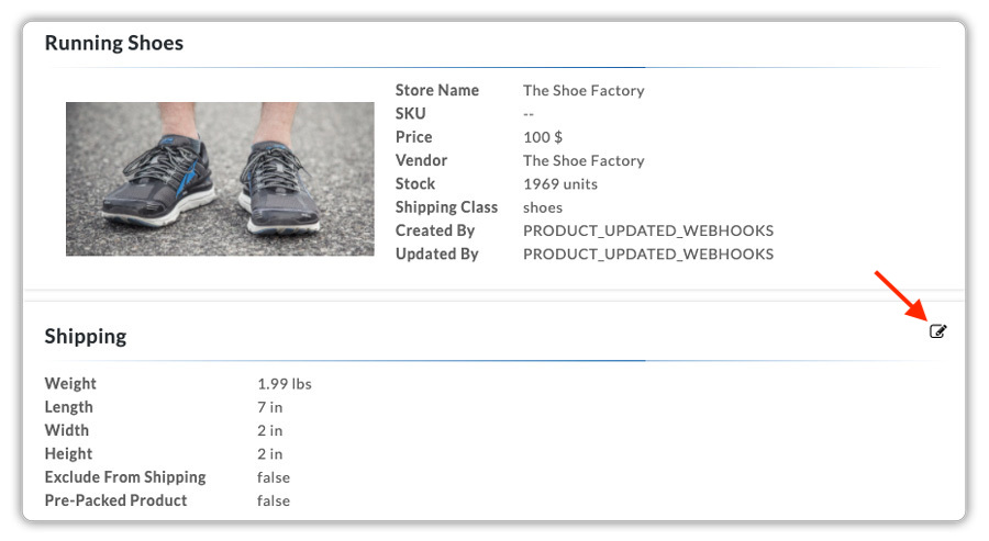 Product-settings