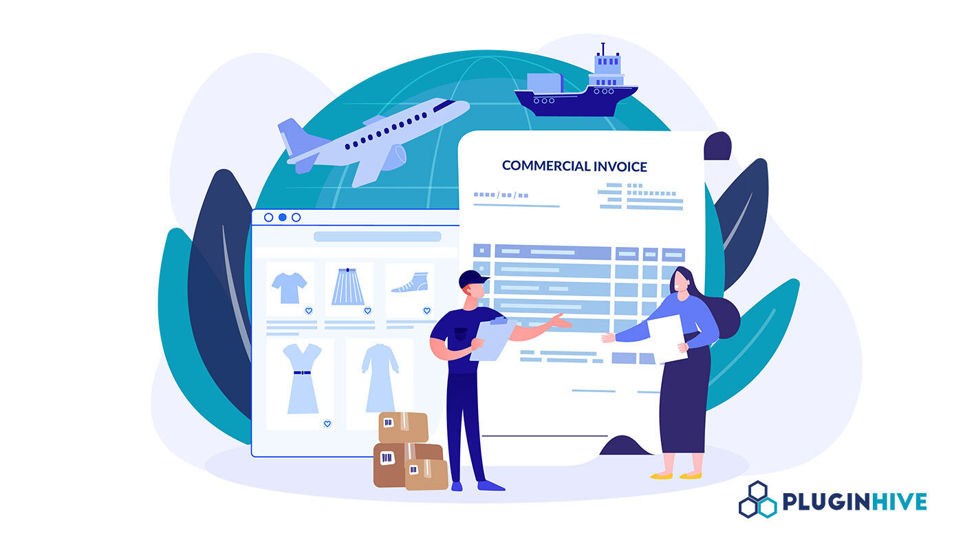 right price woocommerce fedex commercial invoice