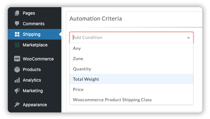 conditional-shipping-rates-calculation