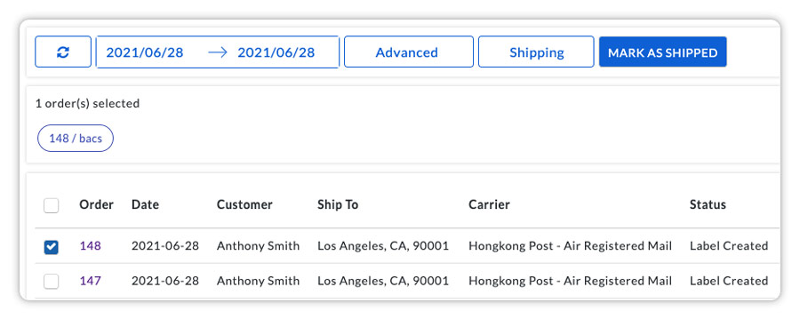 mark woocommerce orders as completed