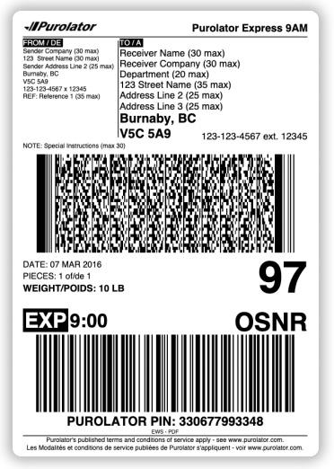 purolator-shipping-label