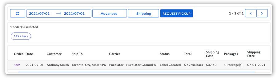 request-purolator-pickup
