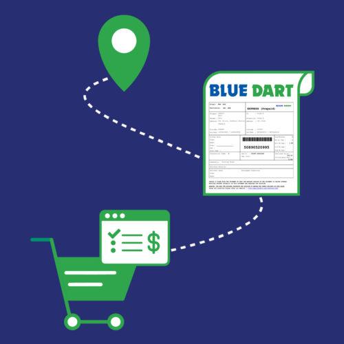 Shopify Blue Dart