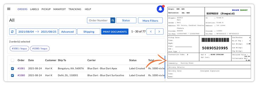 Print-Bluedart-labels