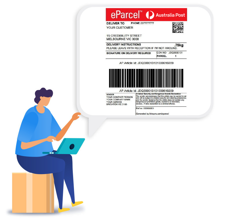 AUSPOST-SHIPPING-LABELS