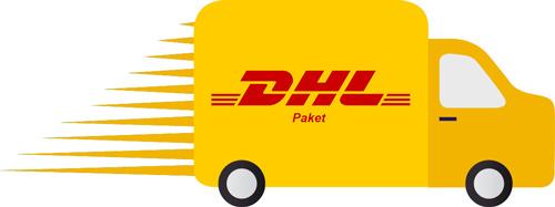 DHL-paket-van